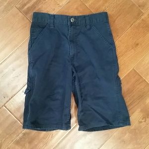 J.Khaki navy blue cargo shorts for boys